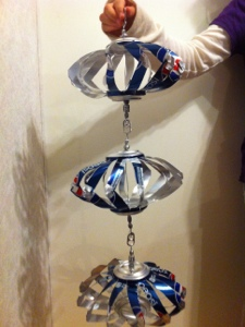 The pop can wind spinners i make welcome to for Things made out of tin cans